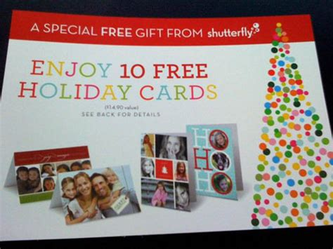 Shutterfly Gift Card Target - target get 10 free shutterfly greeting cards or flat cards just pay shipping