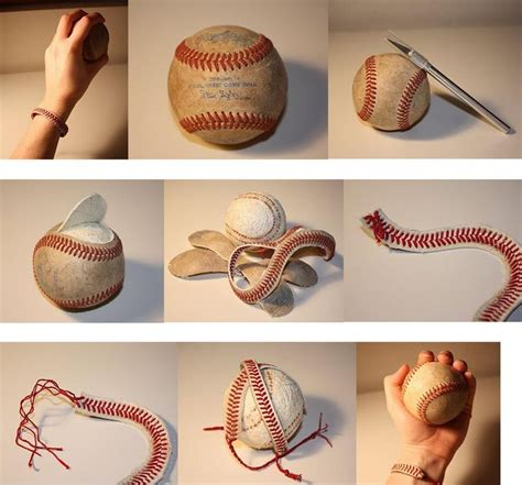 diy baseball bracelet diy crafts
