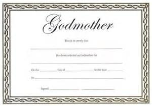 Godparent Certification Letter Godmother Certificate Christening Or Naming Day Gift Ebay