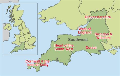 map of south west southwest tradeinvest britishamerican business
