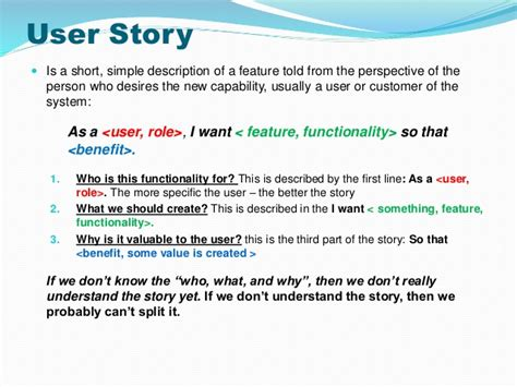 user story card template strategies to split user stories