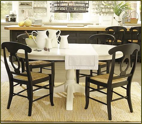 endearing pottery barn kitchen tables dining parsons