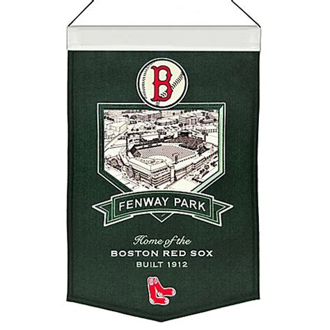 bed bath and beyond fenway buy mlb boston red sox fenway park stadium banner from bed