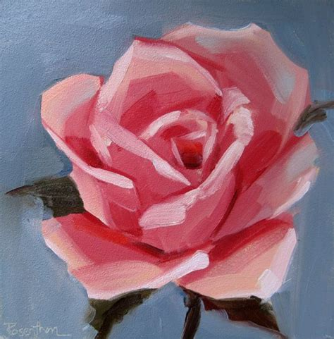 acrylic painting easy flower simple painting artists simple