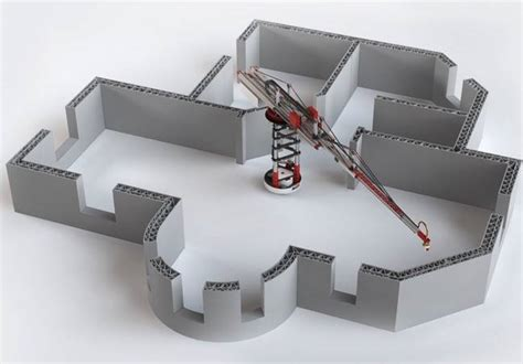 Printer Housing 3d house printer can crank out a thousand square per day treehugger