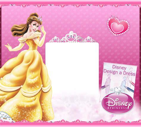 Disney Princess Birthday Cards To Print princess invitations to print