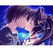 Anime/fondos De Pantalla Anime Otros Amor Y Besos Vista Completa