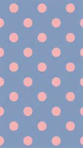 polka dot wallpaper pink polka dots blue background wallpaper phone