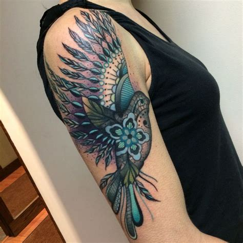 tattoo feather lace lace bird tattoos by noelle lamonica divine machine