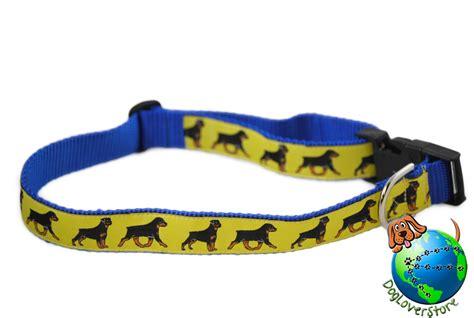 large breed collars rottweiler breed adjustable collar large 13 26 yellow ebay
