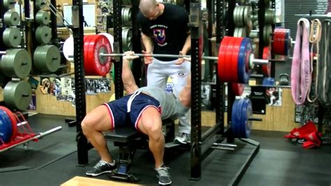raw bench press john cena raw bench press 481 lbs youtube