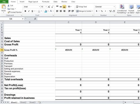 Financial Excel Template by Financial Planning Worksheet Excel Excel Tmp