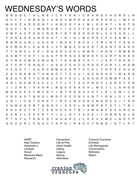 Printable Word Searches For Adults