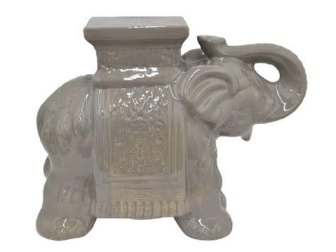Elephant Stools by Ceramic Elephant Garden Stool