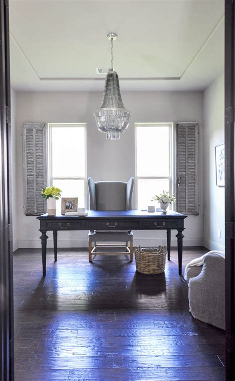 Office Chandelier Home Office Updated With A Beautiful Chandelier Decor