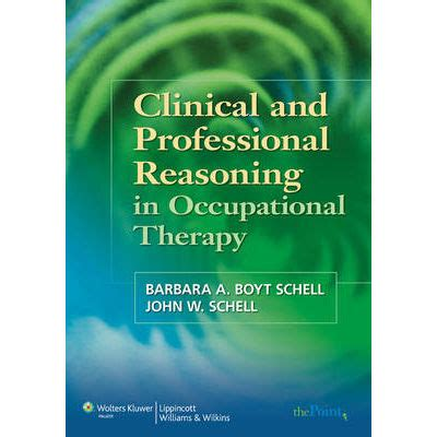 clinical and professional reasoning in occupational