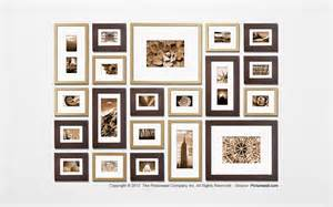 photo frame wall collage template the picture wall template kit decorating ideas