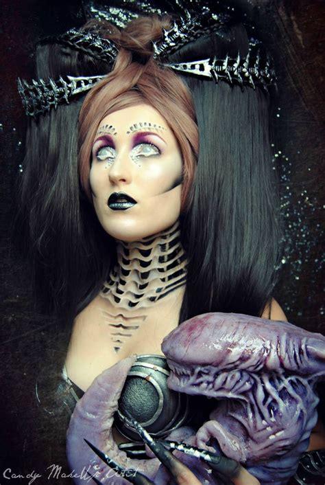 extreme fantasy tattoo extreme make up art inspired by dark fantasy world bored