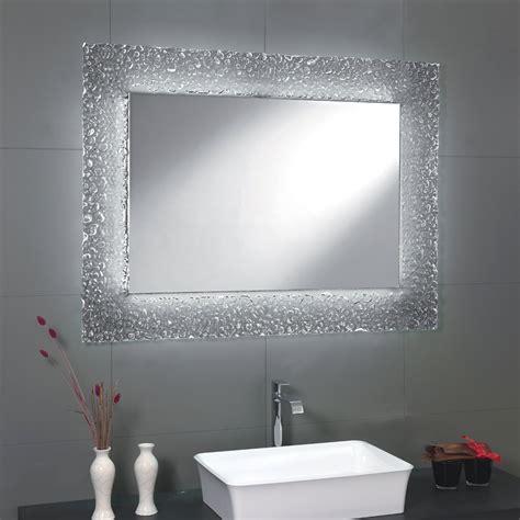 specchio per bagno moderno specchio da bagno moderno con decoro cornice in vetro e