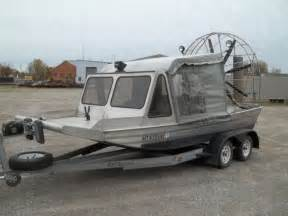 airboat for sale michigan airboat iceboat 18ft gto heated cab 383 chevy for sale in