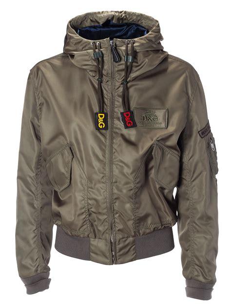 Dolce Jacket dolce gabbana dolce gabbana hooded bomber jacket