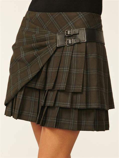 17 best ideas about plaid pleated skirt on