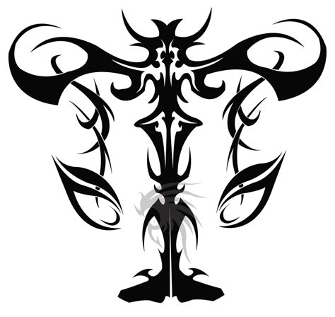 libra tribal tattoo designs libra by saki blackwing on deviantart