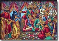 yudhisthira biography in hindi stories of mahabharatha the game of dice 2nd round