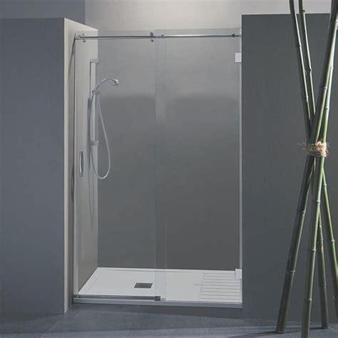 vetro doccia scorrevole porta doccia scorrevole wendy da 138 140 cm in cristallo 8 mm