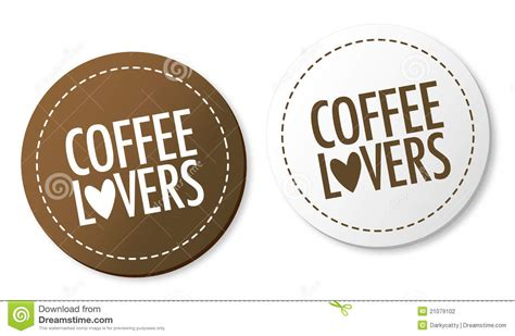 Coffee Lo Ver M coffee stickers stock vector image of morning