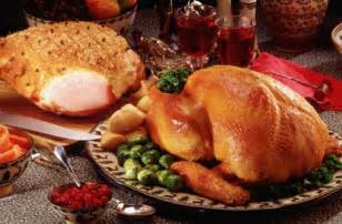 thanksgiving dinner ham express turkey and ham dinner food ireland irish recipes