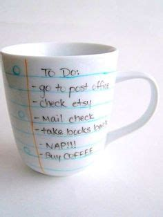 handwritten cup designs notebook paper coffee mug 1000 images about work on pinterest employee awards