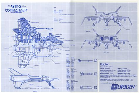 blueprint plans get them while they re blue wing commander cic
