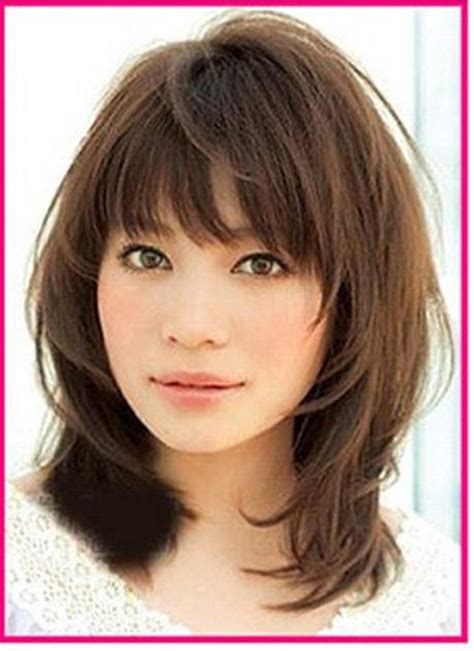 feathered haircuts for round faces feathered layered hairstyles length hairstyles for oval