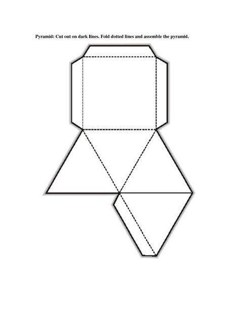printable 3d net shapes free free printable 3d shape nets template learning printable