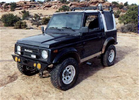 Suzuki Rocky Lifted Suzuki Samurai