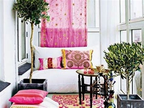 Boho Pink pink boho chic balcony