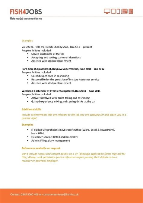 Exle Resume Functional Summary by Resume For School Leavers Best Resume Collection
