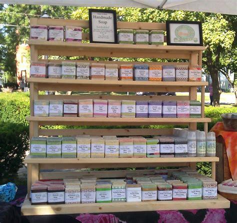 Handmade Soap Displays - new soap rack soaps coming apart and soap display