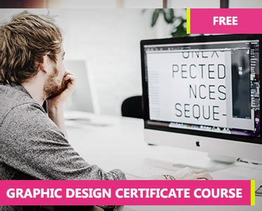 graphic design certificate course how to learn