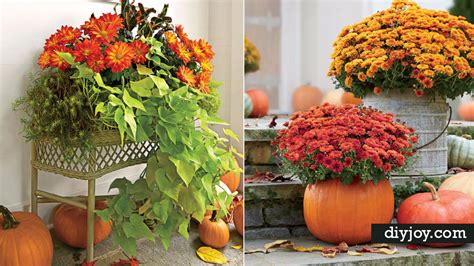 garden ideas for fall 33 diy gardening ideas for fall diy