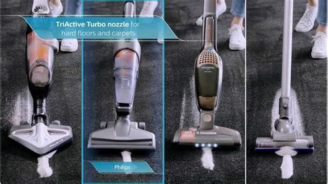 Vacuum Cleaner Philips Daily Duo philips powerpro duo 2 in 1 stick vacuum cleaner fc6168