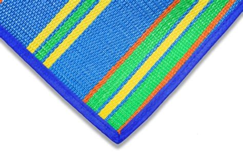 Camco Rv Mat camco rv handy mat 108 quot x 72 quot wide blue w stripes camco patio accessories cam42814