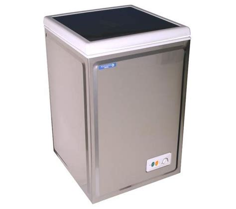 Chest Freezer Mini small chest freezer silver catering equipment hire