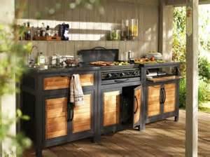 meuble cuisine exterieur castorama