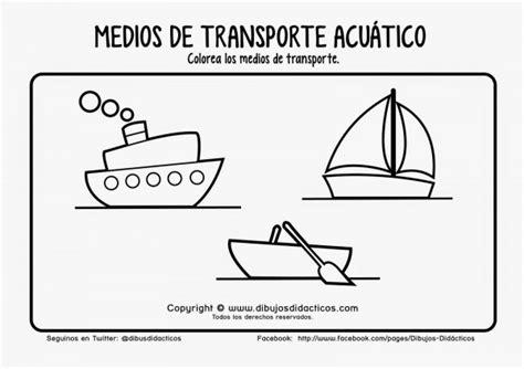 imagenes para colorear medios de transporte terrestre plantillas de dibujos de medios de transportes para