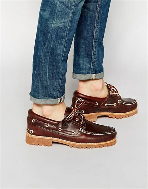 timberland boat shoe look timberland timberland classic lug boat shoes