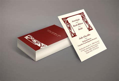 Visitenkarten Hochformat by Visitenkarte Hochformat Puls Grafikdesign Grafikdesign