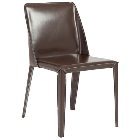 Brown Dining Chair Madden Modern Brown Dining Chair Eurway Furniture