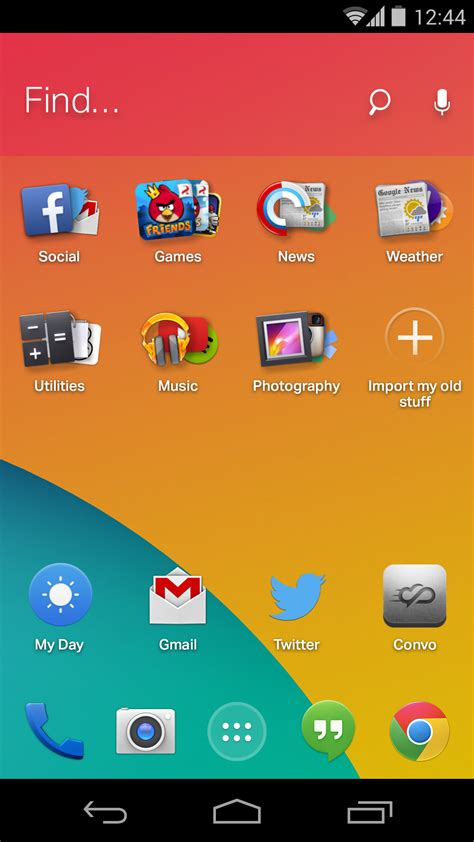 everythingme s new android homescreen learns what you want